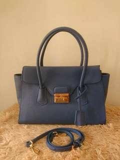 Prada saffiano shoulder/sling bag