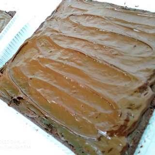 Vegan Chocolate Ganache Brownies