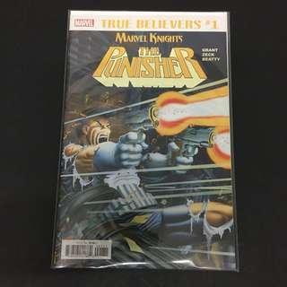True Believers: Marvel Knights Punisher 1 Comics Book Avengers Movie