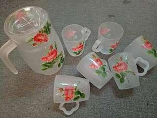 Botanic Rose Jug Set