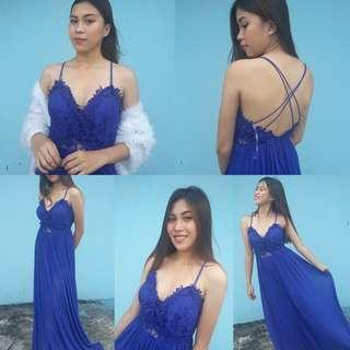 Blue darling dress