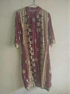 Outer Batik Asli Palembang