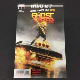 What If: Marvel Comics Went Metal with Ghost Rider 1 Comic Book Movie