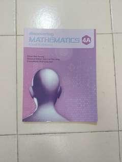 Discovering Mathematics 4A