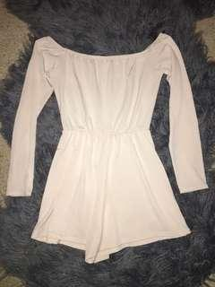 Off the shoulder Playsuit