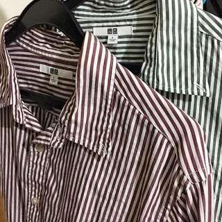 Uniqlo Bundle Stripes in Red and Green