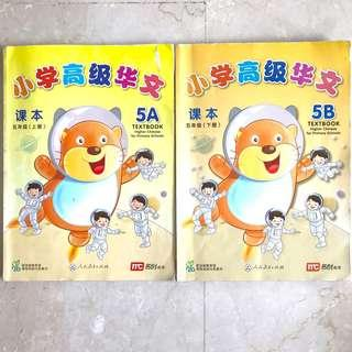 Higher Chinese P5 Textbooks