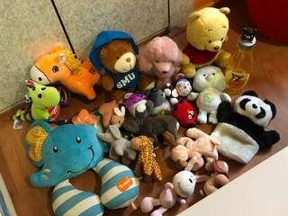 Free soft toys!