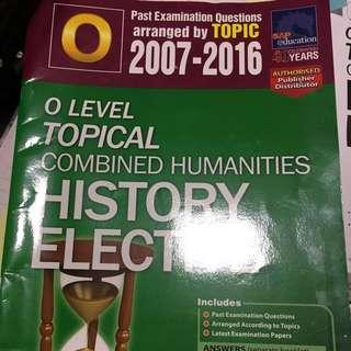History O level tys with FREE READINGS