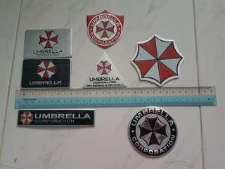 Umbrella Metal Emblems