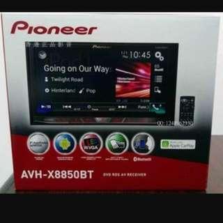 Pioneer X8850BT + R-Cam + Install