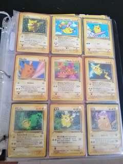 Pokemon Cards - Pikachu Party Set