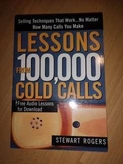 Lesson from 100,000 Cold Calls Cheap Book