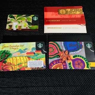 Starbucks Cards Malaysia set