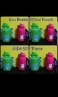 Instock Instock Authentic Tupperware  Eco Bottle 310ml Pouch with strap  《Selling $4.50/each》