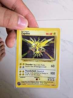 Pokemon Card - Zapdos Holo Card