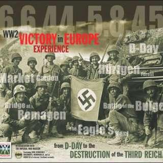 The Victory in Europe Experience History WW2 Book