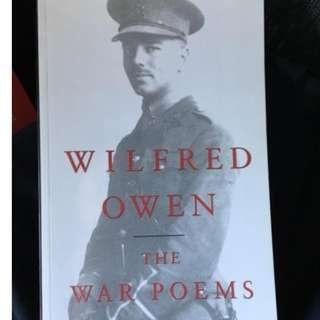 Wilfred Owens The War Poems History