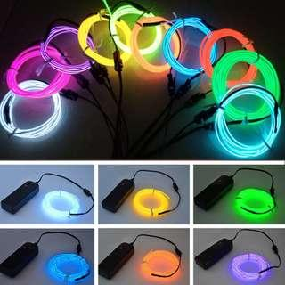 5M Battery Operated Neon Light Deco