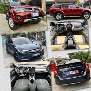 Honda Civic 2016 & Montero 2014