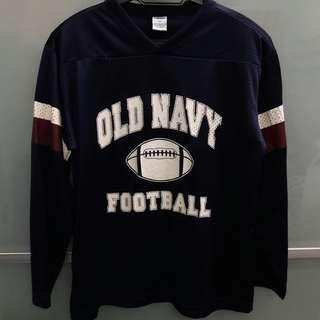 Blue Jersey Sweater