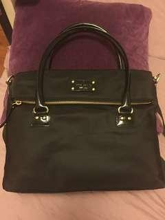 Authentic Kate Spade two way nylon bag