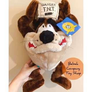 Warner bros 1998年 Looney tunes Taz 華納 樂一通 大茲 塔茲 古董玩具 二手玩具 玩偶