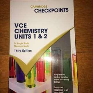 VCE Checkpoints Textbook Chemistry 1&2, 3&4 and General Maths 1&2