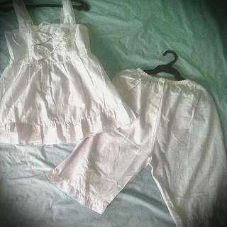 Lolita Fashion Sleepwear/Sexy Cosplay Set
