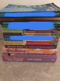 Children's books - Roald Dahl & Girl Online