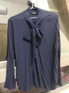 🚚 OL領結襯衫
