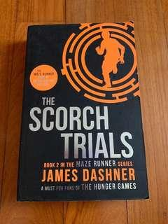 The Maze Runner - The Scorch Trials Story Book