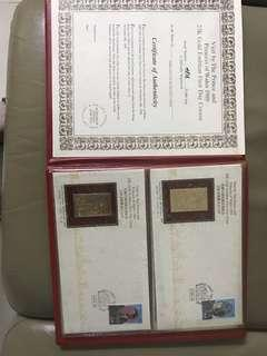 Royal visit -golden stamp packing