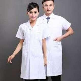 Lab Coat (Size S 1pc only)