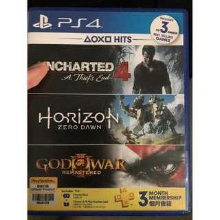 Horizon zero dawn and uncharted 4 thief end