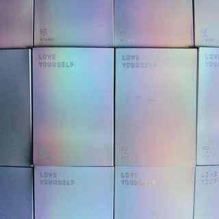 【 FLASH SALE 】bts love yourself answer albums unsealed
