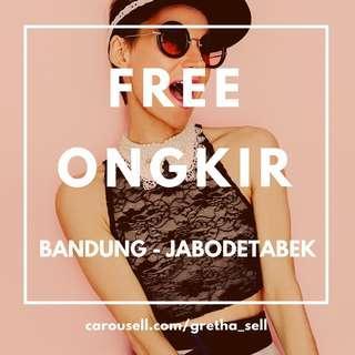 FREE ONGKIR BANDUNG & JABODETABEK