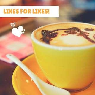 🚚 Likes for likes [max 30]