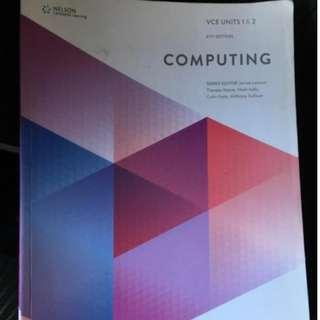 Nelson Computing VCE Units 1&2 6th ed.