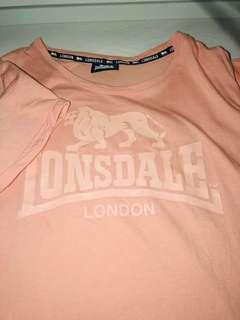 Pink Lonsdale Tshirt