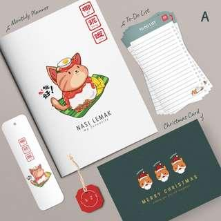 """""""Stationery Gift Set for Christmas Special"""" (SOLD)"""