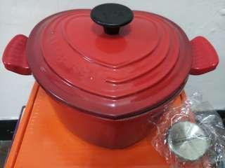 🚚 LE CREUSET 愛心鍋