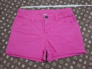 Cherokee denim pink shorts