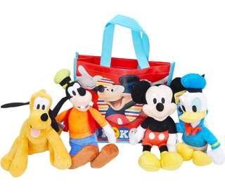 🇺🇸美國直送 Disney 公仔套裝 1套4個公仔+1個禮物袋
