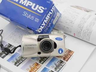 Olympus Stylus 120 Film Compact [FULL BOX set]