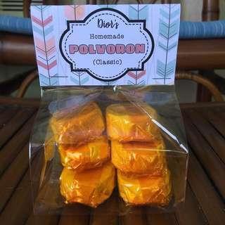 Polvoron (Classic and Pinipig)