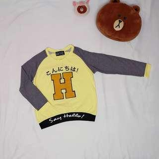 Long sleeve top【RM50 and above free shipping!!】