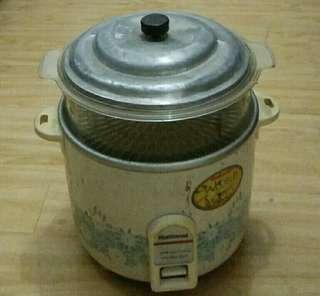 Preloved National Rice Cooker and Steamer