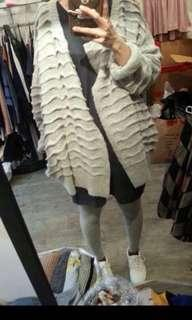 韓國貨 全新灰色外套,Free Size。注意:可以先入數之後順豐到付