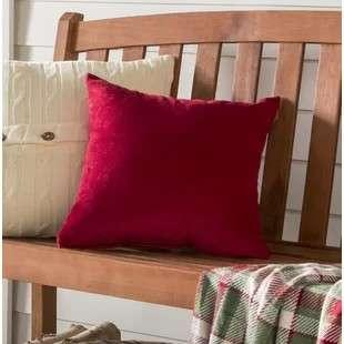 Red pillow . Enzol